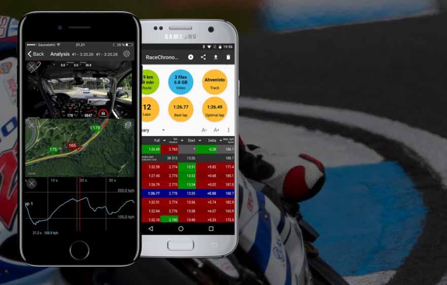 Race Chrono - application chronomètre piste