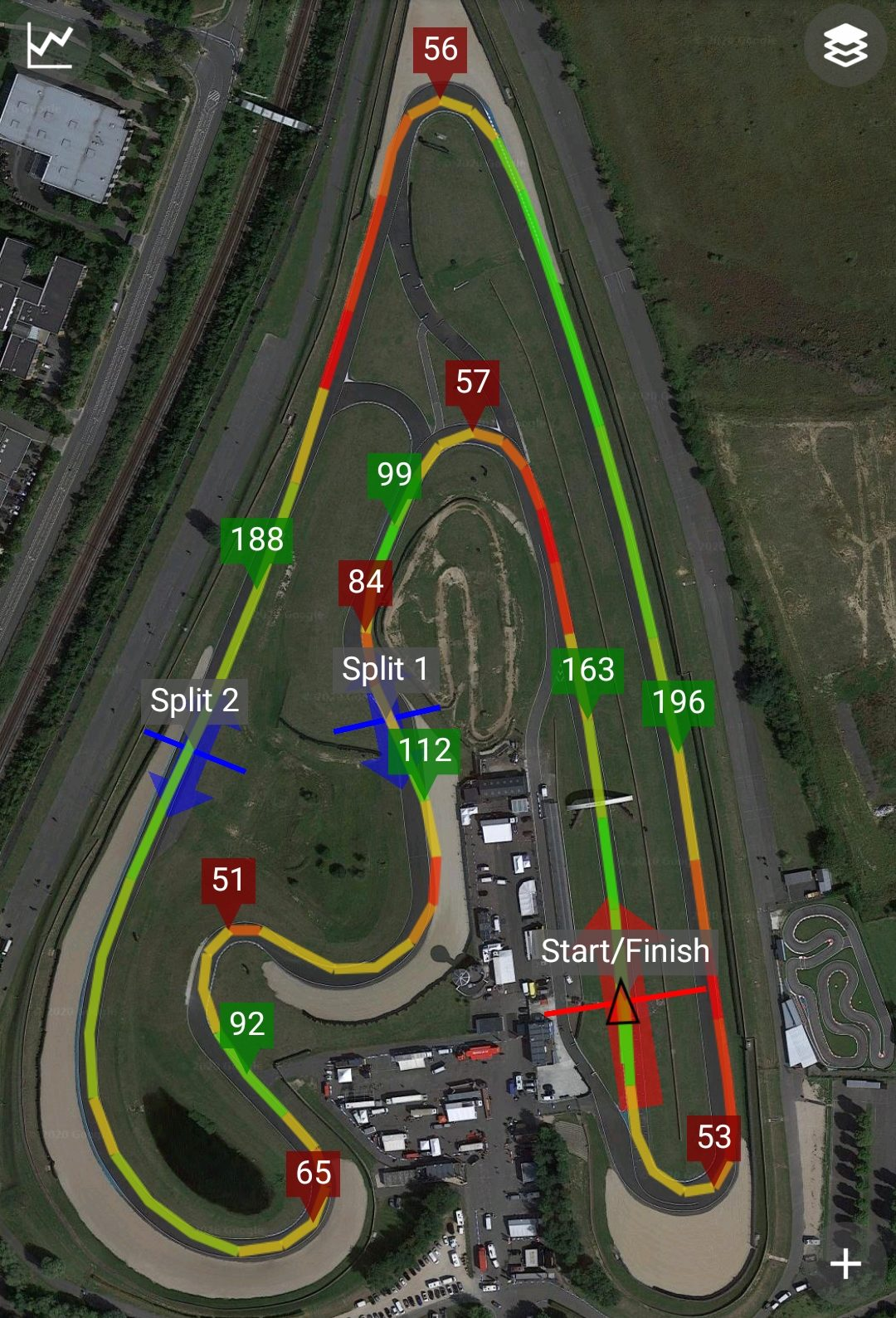 Trace circuit Carole FZ1